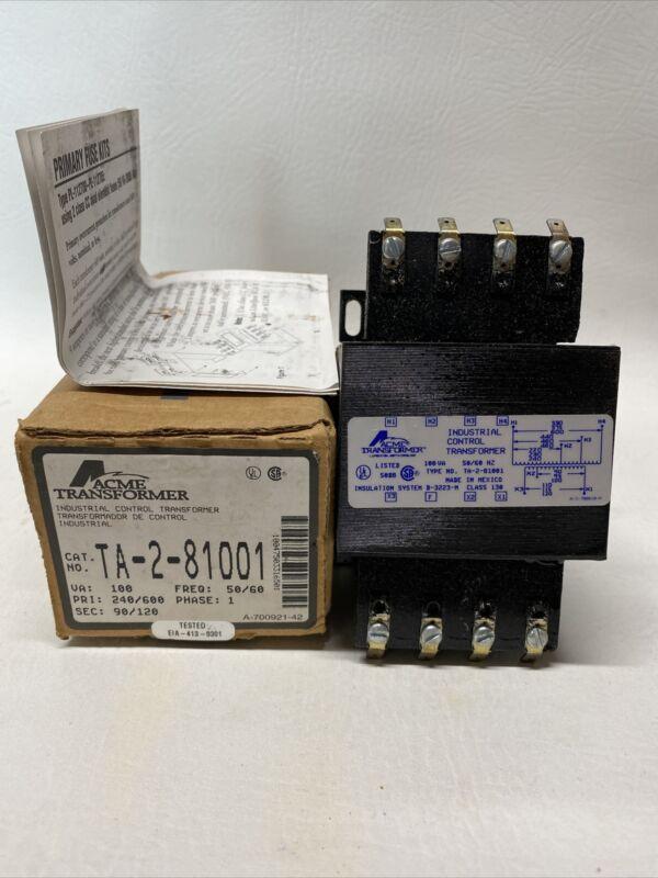 NEW ACME TA-2-81001 Transformer