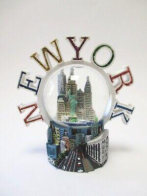 New York Snow Ball With Corona, Subway, World Trade Center, Freedom Tower