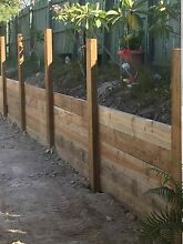 Retaining walls timber Coomera Gold Coast North Preview