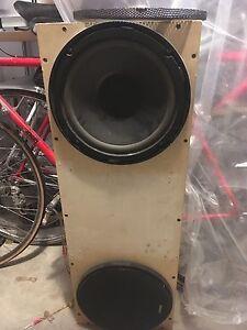 "Alpine speakers - 10"""