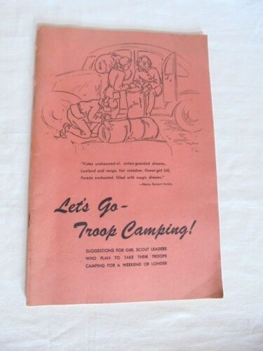 Cool Vintage 1944 Girl Scouts Let