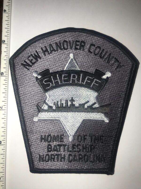 New Hanover County North Carolina Sheriff Police E.R.T. Subdued Hard To Get Rare