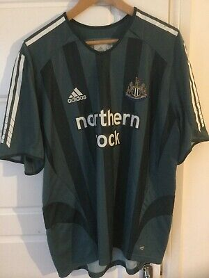 Adidas Newcastle United 2005/06 away shirt top Size: L Large mens - NEW