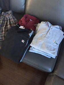 Lot de vêtements collège Charles Lemoyne