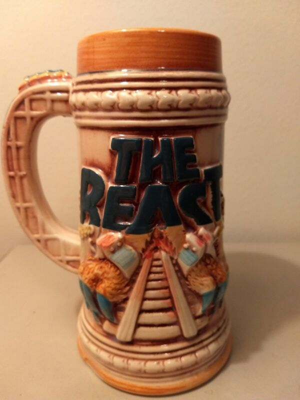 Kings Island The Beast Vintage Rare Ceramic Stein