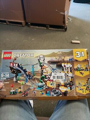 "Lego Creator 3 in 1 #31084 ""Pirate Roller Coaster"" 923 pcs Set (Retired) NIB"