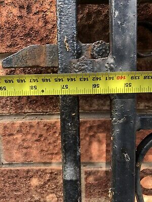 wrought iron gates Measurements In The Pictures