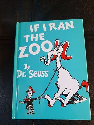 IF I RAN THE ZOO DR SEUESS BRAND NEW MINI HARDBACK CHILDRENS BOOK - Dr Seuess