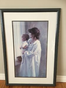 Gorgeous Lg.  Framed Picture