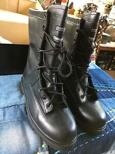 Viper Police Footwear Black Leather Men's Boots New!