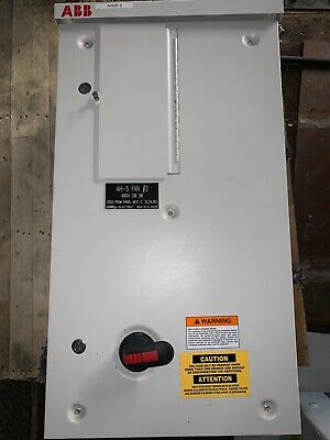ABB 7.5HP Variable Drive ACH550-BCR-012A-4+B058+F267