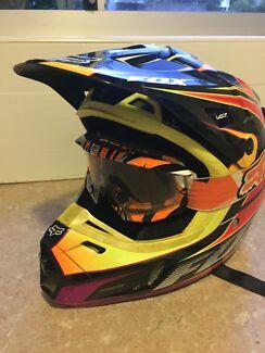 Fox Motocross /Motor Bike helmet