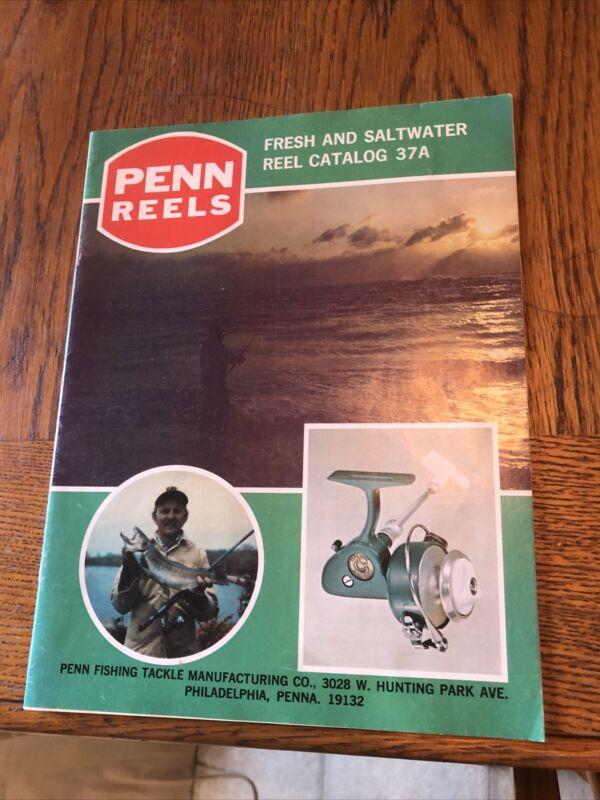 Vintage 1975 Penn Reel Catalog 37A,Vintage Penn Reels