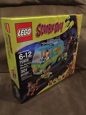 New Sealed In Box Lego 75902 Scooby-Doo The Mystery Machine 301 Pieces 2015