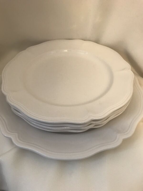 Vintage Sears Harmony House Federalist Platter And Four Dinner Plates