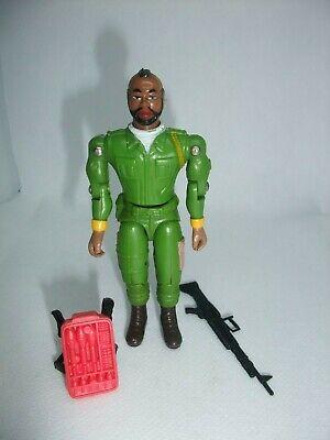 Rare Vintage Action Force Gi Joe A-Team BA Galoob 1983 complete figure
