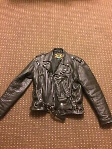 Mens medium leather jacket