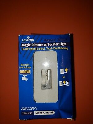 Leviton TGM10-1LT ToggleTouch Preset Digital 1000VA Magnetic Low Volt Dimmer (Toggletouch Dimmer)