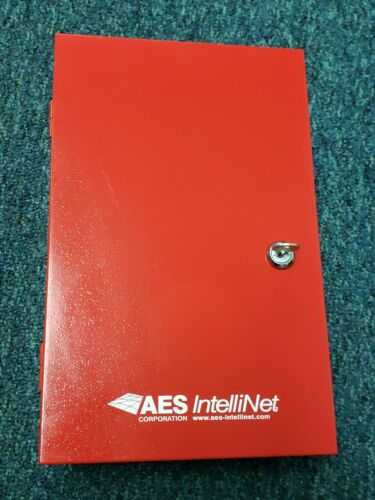 NICE AES 7744F IntelliNet Fire Alarm RF Signaling Unit Red 460.5125MHz