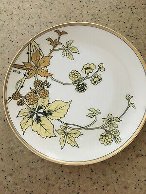 Plates Chargers Hand Painted Haviland Vatican