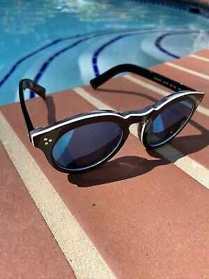 Illesteva sunglasses leonard 2 tuxedo blue lenses