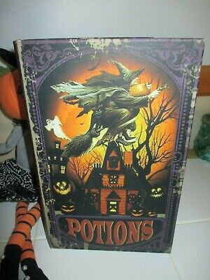 Halloween Spell Book (NWT Large Halloween Witch