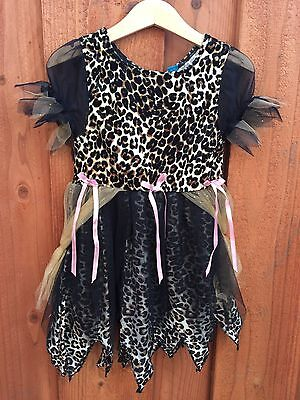THE CHILDREN'S PLACE Girl's Witch Cheetah Halloween Costume Dress Up sz 18-24M