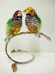 GOULDIAN-FINCHES-PERIDOT-FINCH-BIRDS-2013-SWAROVSKI-CRYSTAL-BIRD-1141675