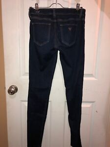 Guess power skinny jeans size 27