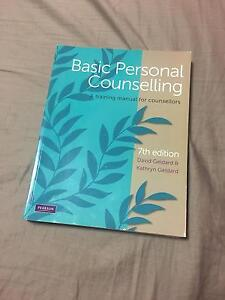 Basic personal counselling 7th ed- D. Geldard & K Geldard Duncraig Joondalup Area Preview