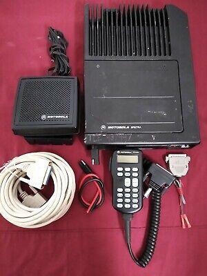 Upgraded Motorola Astro Spectra W3 Hh Vhf P25 Digital Mobile Radio 110w Complete