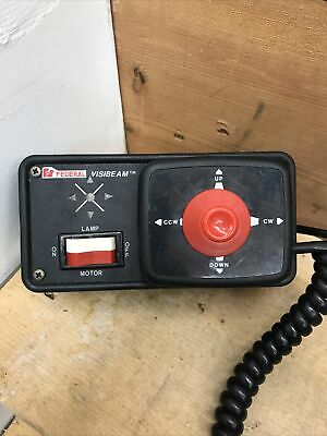 Nos Vintage Federal Signal Visibeam Remote Search Light Controller. Visi Beam