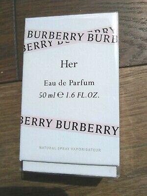 Burberry Her Eau de Parfum EDP 50ml NEW & CELLOPHANE SEALED