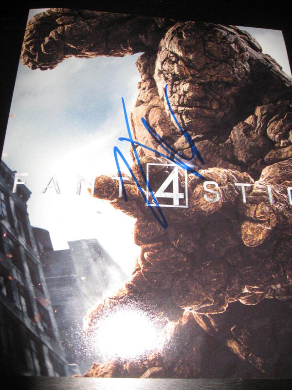JAMIE BELL SIGNED AUTOGRAPH 8x10 PHOTO FANTASTIC FOUR THING PROMO COA AUTO NY X3