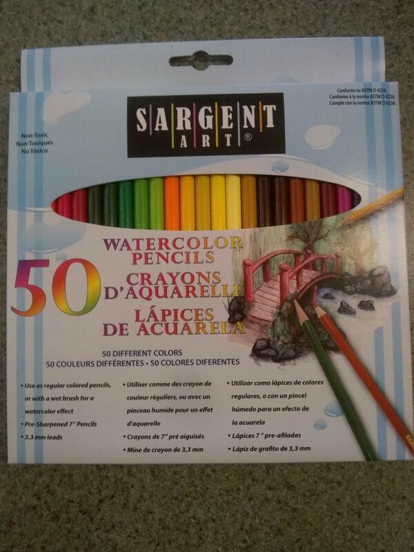 Watercolor Pencils 50/Pkg- , SA227273