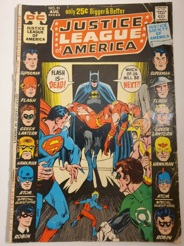 Justice League of America #91 (August 1971, DC)