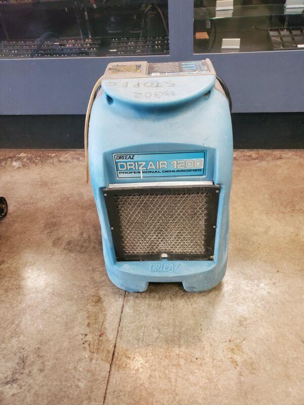 Dri-Eaz DrizAir 1200 F203 Portable Refrigerant Dehumidifier 115V LOCAL PICKUP