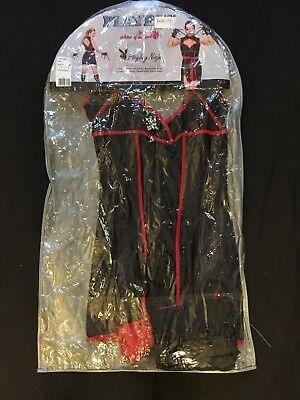 Playboy Ninja Costume Adult Sexy Female Halloween Fancy Dress size-medium - Female Ninja Halloween Costumes