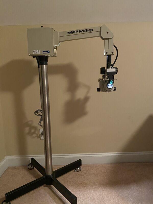 Wallach ZoomScope Quantum Colposcope Microscope System With Nikon SMZ-1