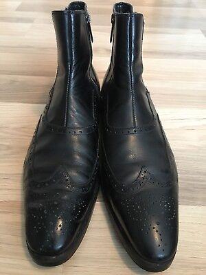 BALDININI - Herren Chelsea Boots / Gr. 42 / Schwarz / Leder