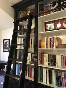 Manhattan Book Case with ladder