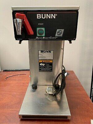 Bunn Cdbcf15-aps Automatic Digital Airpot Coffee Brewer Used No Filter Basket