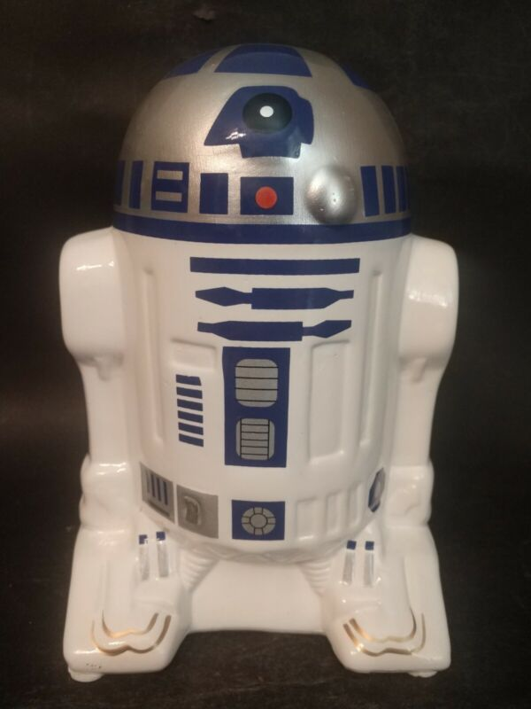 """Collectable 7.5"""" Star Wars R2D2 Ceramic Coin Bank"""
