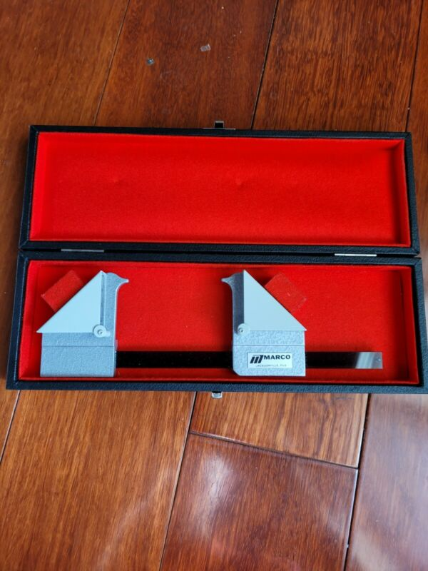 Marco - Prism Exophthalmometer & Case - Mint Condition -