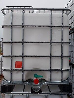 1000 L IBC Regenwassertank aus der LEBENSMITTELINDUSTRIE TOP QUALITÄT gebraucht kaufen  Bad Lausick