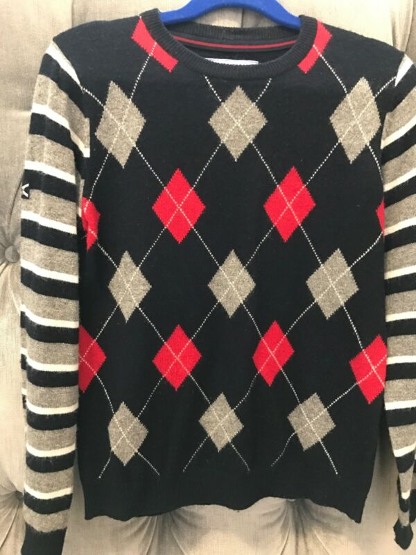 JOHNNY LAMBS JUNIOR BOYS SWEATER WITH ARGYLE PATTERN SIZE  7