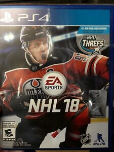 EA Sport NHL 18 PS4 Game