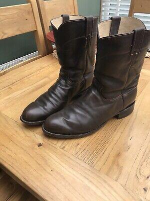Justin cowboy boots Size 11