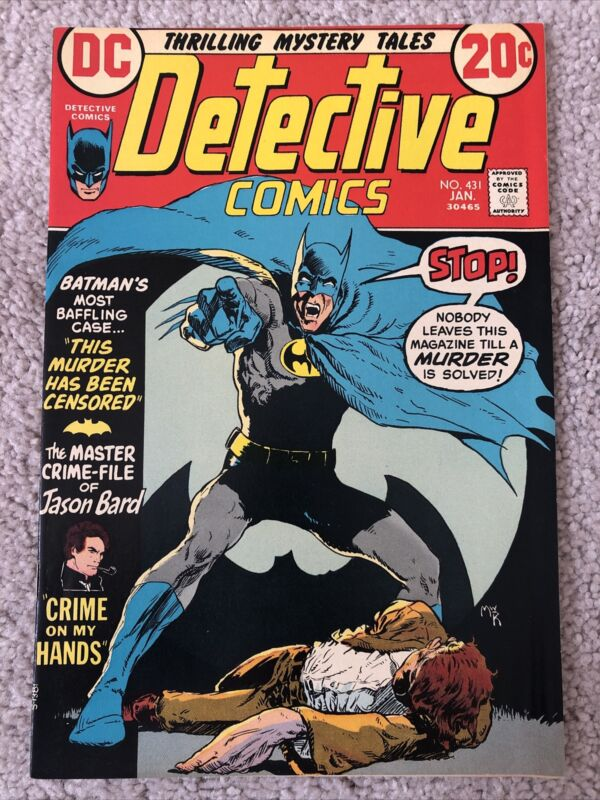 Detective Comics #431 (1973) Bronze Age Gem!!!Mike Kaluta Cover!!!