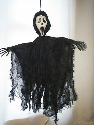 HTF Scream Hanging Ghost Face Halloween Prop 2011